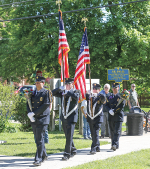 As restrictions lift, Memorial Day services return