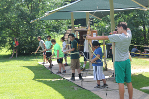 Camps are busy this summer