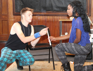 Production company performs 'Rent' in Odessa