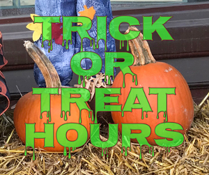 Villages set Halloween trick or treat hours
