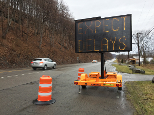 Route 14 repairs will cause delays