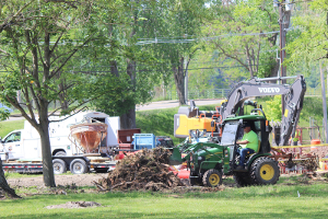 Clute Park improvements are reaching finishing stages