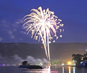 Fireworks will highlight holiday celebrations