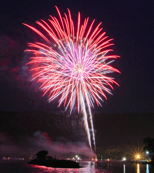 Fireworks, parade will highlight holiday celebrations