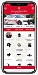 Yates sheriff releases new phone app