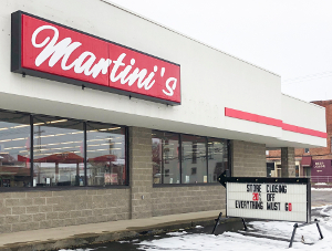 Martini's grocery store will close in Dundee