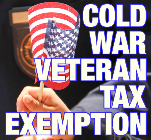 County sets hearing for veterans exemption
