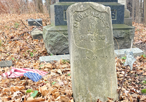Out-of-view church cemetery needs attention