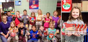 Students collect cans to tackle hunger