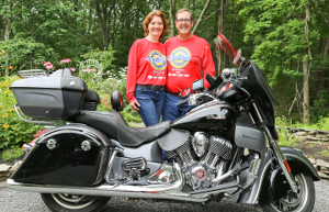 Dundee couple loves to ride