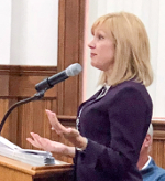 Interim Keuka president updates legislature
