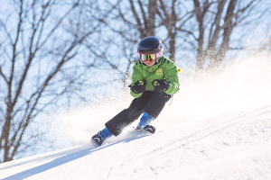 Local ski resorts now have trails open