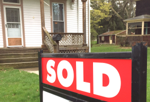 Quarterly prices up, with fewer homes sold