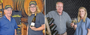 Area wineries win top state awards