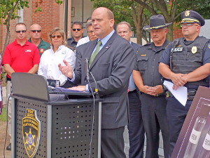 Reed, area officials address opioid crisis
