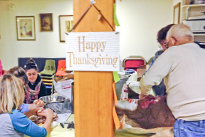 Church extends its holiday table to many