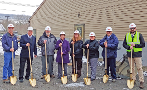 The Arc of Schuyler breaks ground