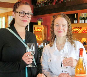 Have you tried an orange-colored wine?
