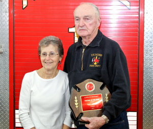 Miller earns eighth Firefighter of the Year