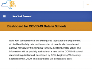 New dashboard will show school virus cases
