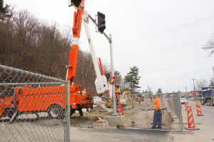 Work continues at state park