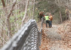 State park workers start the prep jobs