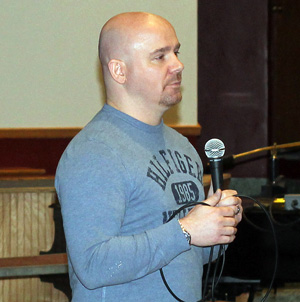 Local students hear from anti-bullying speaker