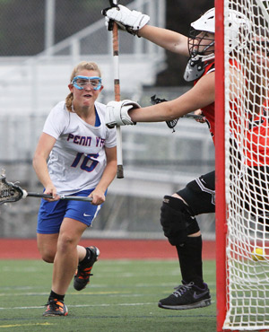 Girls fall to Waterloo; boys lacrosse game cancelled