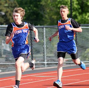 Penn Yan track hosts home meet