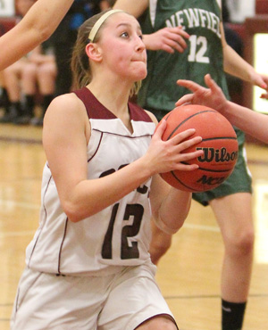 Odessa girls lose to Newfield
