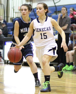 Watkins beats Moravia in sectionals, 39-38