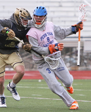 PHOTO GALLERY: Penn Yan lacrosse scrimmage