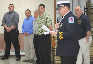 Emergency responders celebrate training success