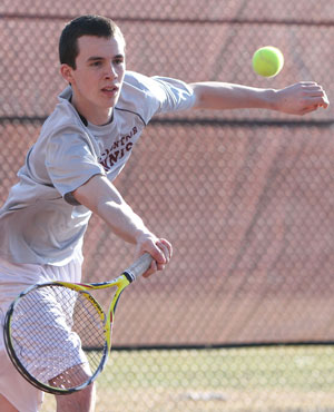 Odessa tennis team falls to Union Springs