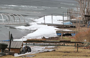 Ice damage hits Keuka Lake docks