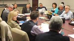 Two-county group reviews benchmarks