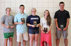 Watkins Glen, Dundee and Penn Yan honor top athletes