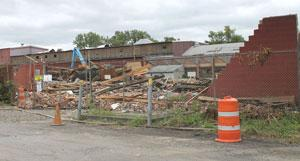 Shepard Niles buildings come down