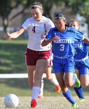 Lady Scots open homecoming with wins