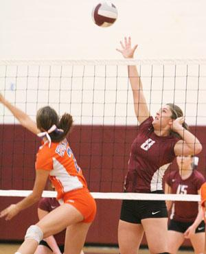 Odessa volleyball loses to Edison