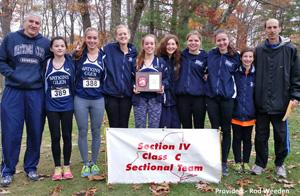 Watkins girls take first at sectionals
