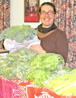 Area vegetables, oven-roasted, are 'localicious'