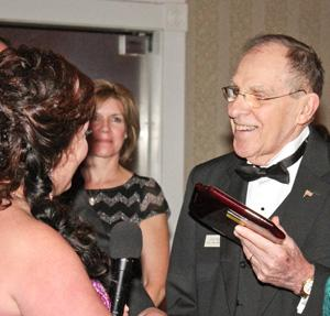 PHOTO GALLERY: Sidle takes 'Lifetime Achievement Award' at Chamber event
