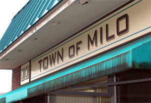 Milo residents question sewer rate increase