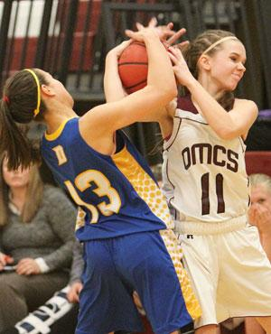 Odessa girls fall in sectionals, 54-52