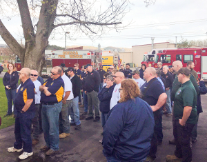 Emergency responders honor Tom Carson