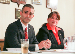 District attorney candidates answer questions