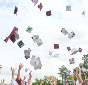 Seniors look to commencement