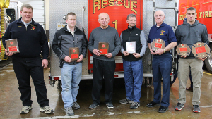 Dundee honors fire, first responders