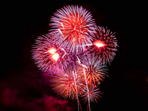 Fourth of July events include fireworks